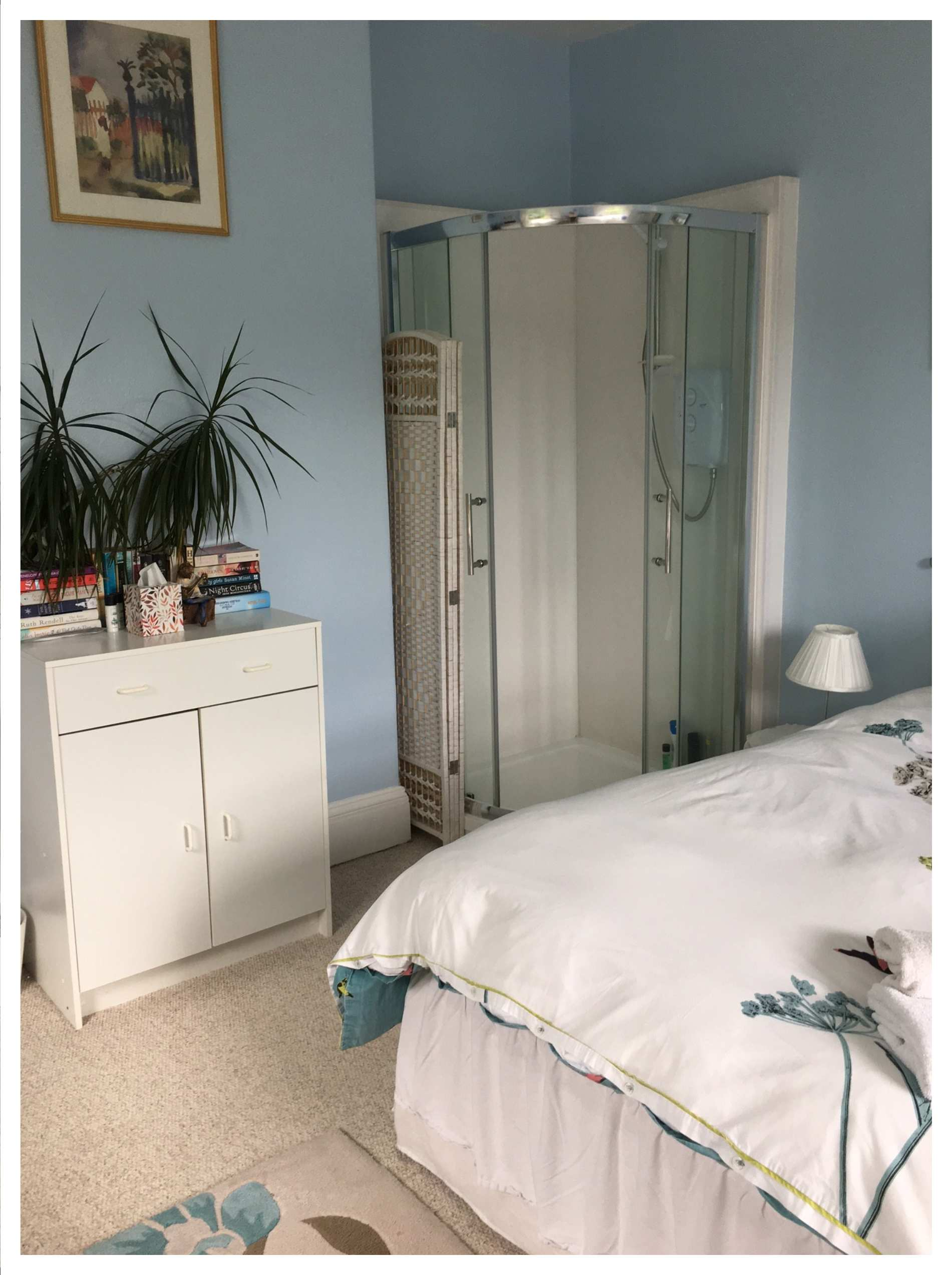 Blue Room Double Bed with En-Suite